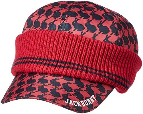 親密な肉パトロール(ジャックバニー バイ パーリーゲイツ) JACK BUNNY by PEARLY GATES [ 男女兼用 ] ニット キャップ (デジタル うさぎ柄) ゴルフ ニット帽 帽子 262-7287010
