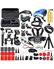 Deyard Accessoires Kit Set voor GoPro Hero 8 Hero 7 Hero 6 Hero 5 Hero 4 Hero HD (2018) Hero Fusion Max / Session Fit Xiaomi AKASO Crosstour Apeman Action Camera