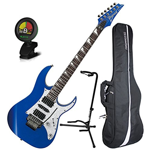 Ibanez RG450DXSLB Electric Guitar Edge II Trem Starlight Blue Finish w/ Gig Bag, Tuner, and Stand