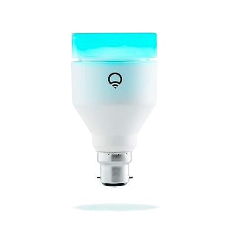 Lifx Bombilla de Luz LED Inteligente Wi-Fi con Infrarrojos para Visión Nocturna B22,