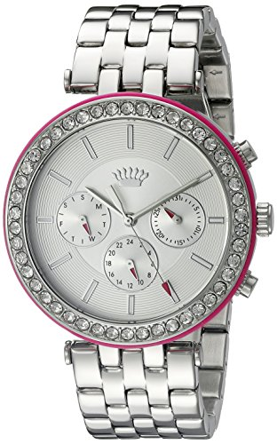 Juicy Couture Women's 1901332 Analog Display Quartz Silver Watch