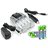 Best ACDelco Rechargeable Batteries - ACDelco 2-hour Battery Charger for NiMH AA Review