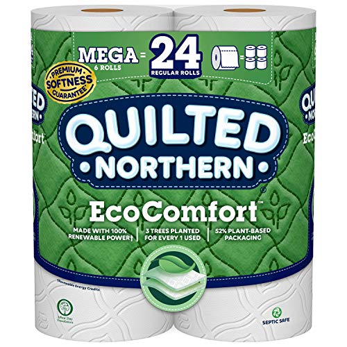 Quilted Northern Quilted Northern Eco Comfort Bath Tissue, 6 Mega Rolls, 6 Count