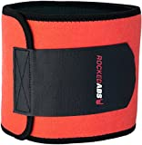 #1 Workout Waist Trimmer Belt for Men and Women - Pro Fitness Trainer Quality - Provides Back Support While Burning Belly Fat - Fully Adjustable - Helps Promote Weight Loss While Slimming Your Abs!