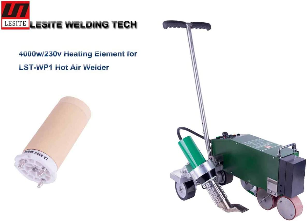 5 PC Heating Element 4000W//230V Heating Element for Lesite PVC//TPO//CPE Hot Air Welder LST-WP1