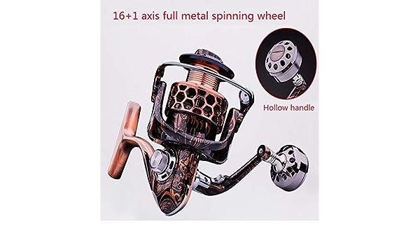 De precisión de metal Spinning Wheel, pesca de aparejos de pesca ...
