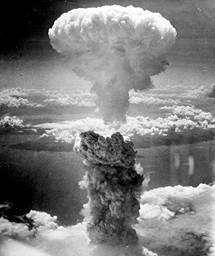 Home Comforts Laminated Poster Mushroom Cloud Atomic Bomb Nuclear Explosion Poster Print 24 x 36