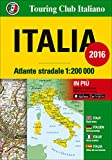 Italy, Road Atlas (Italian Edition)
