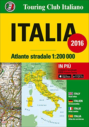 Italy, Road Atlas