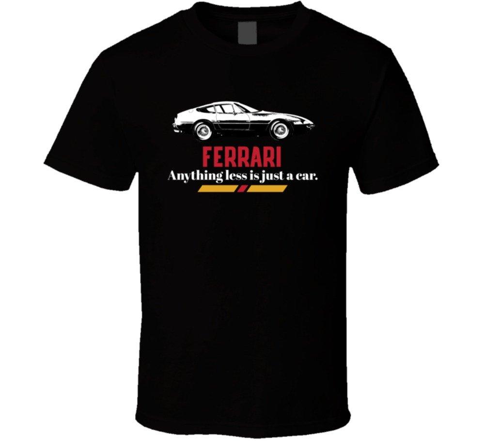 1973 Ferrari 365 Gtb4 Daytona Anything Less Is Just A Car T Shirt