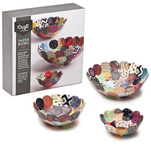 Craft Crush Paper Bowls