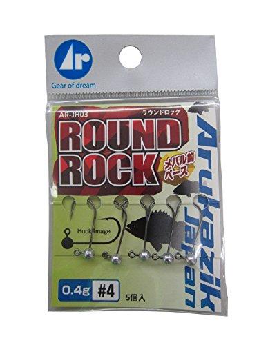 Arukazik Japan(アルカジックジャパン) ジグヘッド ラウンドロック 0.4g #4の商品画像