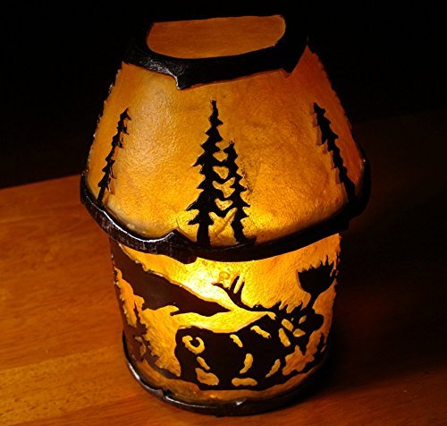 Moose Silhouette Cabin Table Lamp Or Lodge Wall Sconce Light Home Decor (Moose Silhouette Table Lamp)