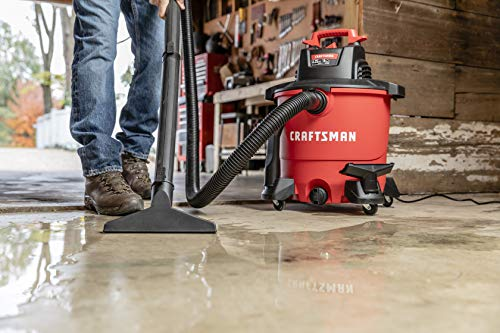 CRAFTSMAN CMXEVBE17590 9 gallon 4.25 Peak Hp Wet/Dry Vac, Portable Shop Vacuum with Attachments by Craftsman (Image #4)