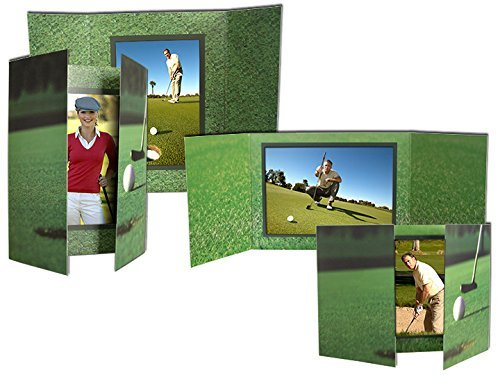 Golf gate-fold event 5x7 photo folders sold in 25s - 5x7 by SendAFrame