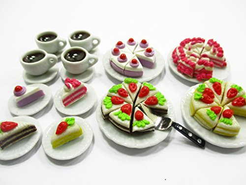 food and dishes for barbies - 3