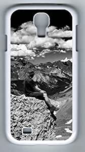 Colorado Pass Black and White Hard Cover Back Case For Samsung Galaxy S4,PC Fashion White Case for Samsung Galaxy S4 i9500