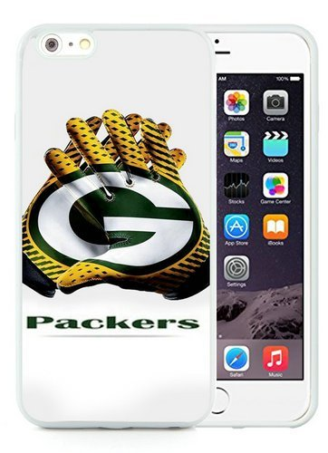 Green Bay Packers 2 White Shell Case for iPhone 6S Plus 5.5 Inches,iPhone 6 Plus TPU Cover