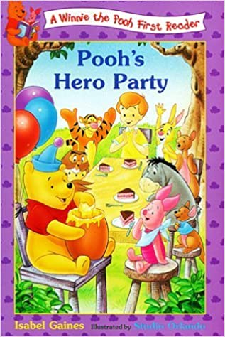 Book Pooh's Hero Party (Winnie the Pooh First Readers) by Disney Press (1999-04-03)