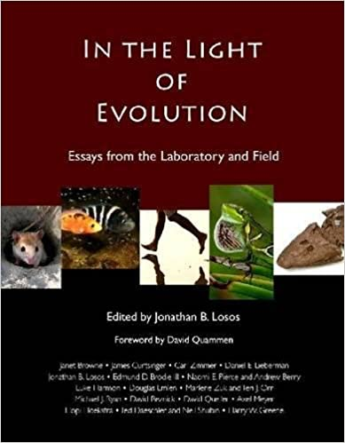 in the light of evolution essays from the laboratory and field  in the light of evolution essays from the laboratory and field 2nd edition