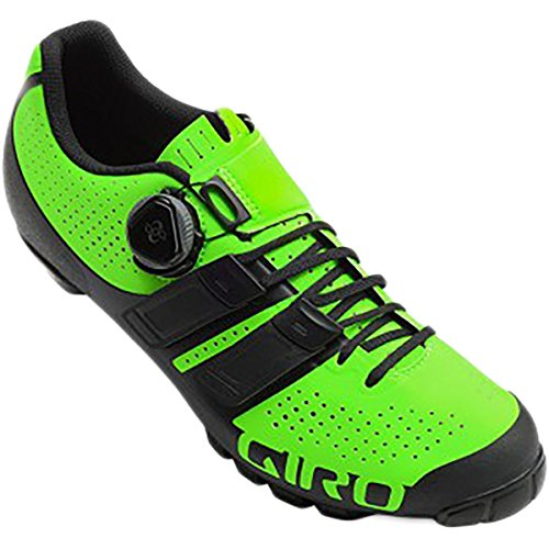 想起浮浪者意図的Giro シューズ スニーカー Code Techlace Shoe - Men's Lime/Black [並行輸入品]