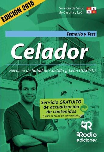 Celador. Temario Y Test. Servicio De Salud De Castilla Y León
