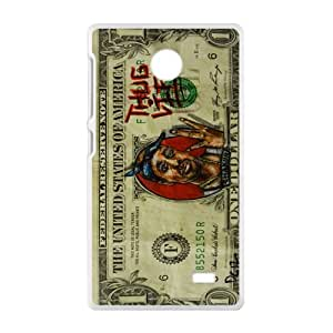 Money Pattern Cell Phone Case for Nokia Lumia X