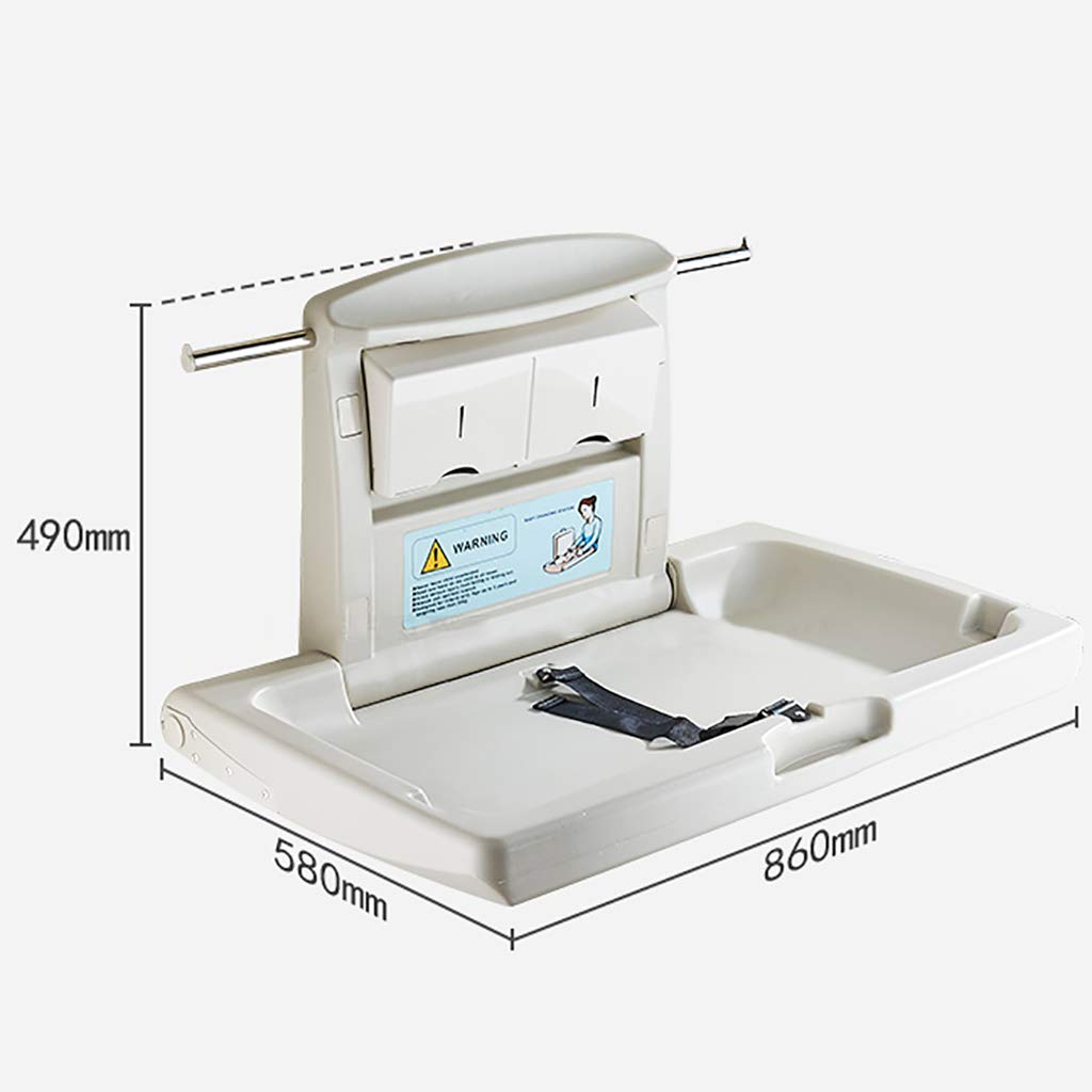 Baby Changing table Horizontal wall mounted