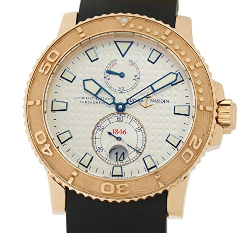 Ulysse Nardin Maxi Marine Automatic-self-Wind Male Watch 266-33-3A/90 (Certified Pre-Owned) (Nardin Ulysse Maxi)