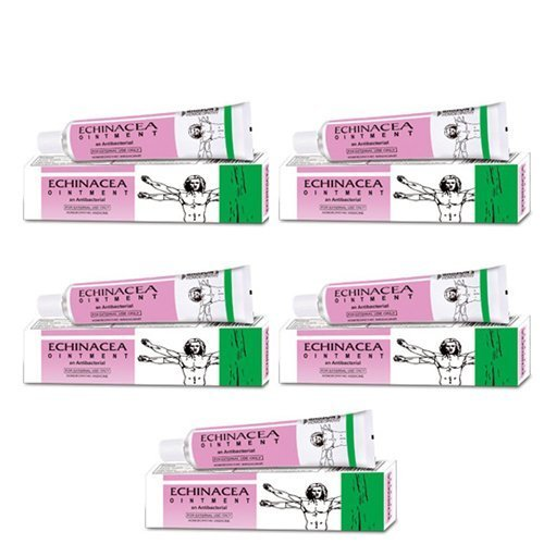 5 Pack- Bakson's Homeopathy - Echinacea Ointment An Antibacterial by Bakson