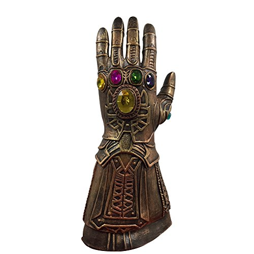 Bellagione Novelty Latex Thanos Infinity Gloves of The Avengers Costume Halloween Christmas Party Club for Adults -