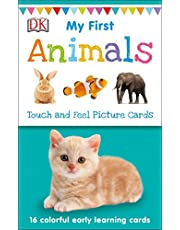 My First Animals: Touch and Feel Picture Cards