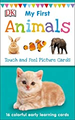 This updated DK classic includes sixteen colorful flashcards with tactile elements that are perfect for giving toddlers a head start in developing early language skills.Each 17-card pack contains 16 touch-and-feel picture cards and 1 card of ...