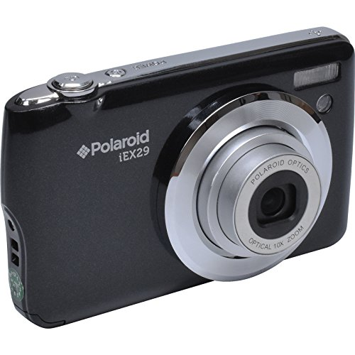 Polaroid iEX29 18 Megapixel Optical Zoom Digital Camera (Black)