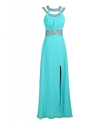 MISSYDRESS Beaded Bridesmaid Evening Party Prom Chiffon Gown Dress15