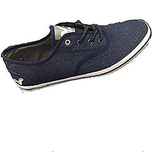 VOI , Chaussures de ville à lacets pour homme bleu bleu marine 43