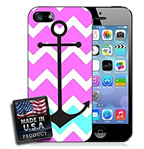 Colorful Ombre Chevron Anchor iPhone 4/4s Hard Case