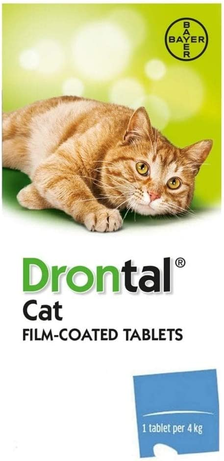 Amazon Com Pet Care 24 Tablet Cat Roundworm And Tapeworm