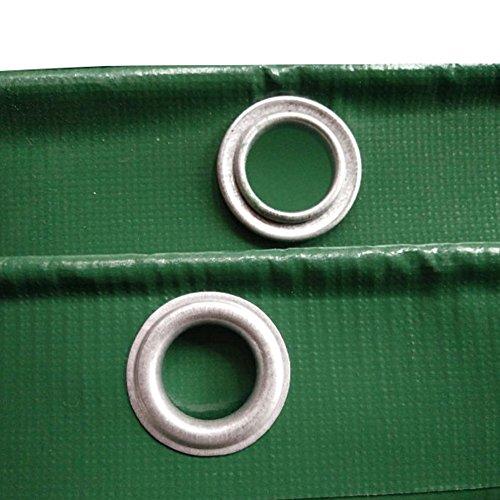 取得するために寂しいCHAOXIANG オーニング 厚い 両面 防水 アンチサン 耐摩耗性 耐食性 耐寒性 防塵の 老化防止 PVC 緑、 550g/m 2、 厚さ 0.55mm、 16サイズ (色 : 緑, サイズ さいず : 6×6m)