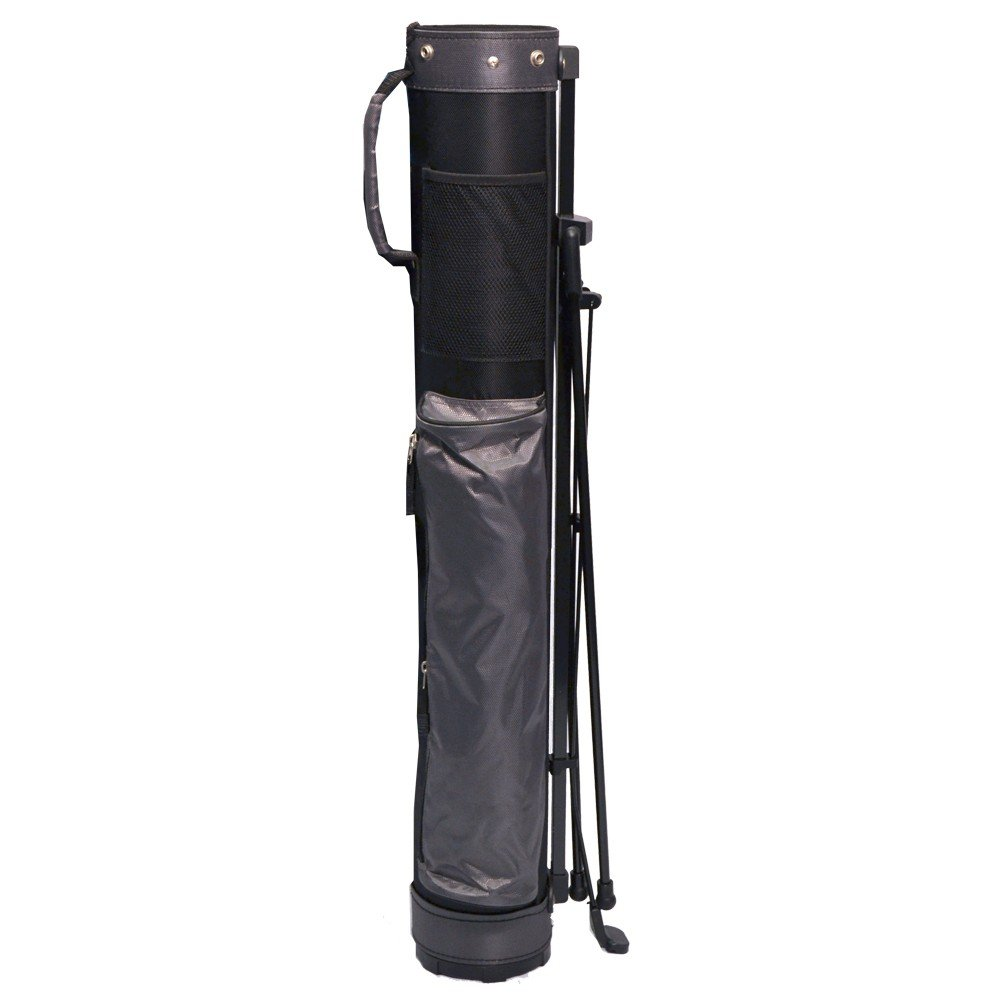 Longridge 5 Travelite Stand Bag Black Silver Slazenger 1084 Trolley Case 28 Inc Sports Outdoors