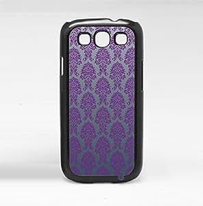 Luxurious Purple Baroque Pattern Hard Snap on Phone Case (Galaxy s3 III)