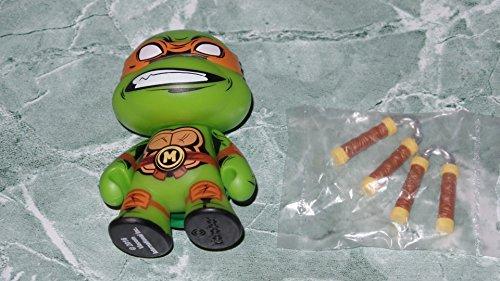 "Kidrobot Teenage Mutant Ninja Turtles Series 2 TMNT Shell Shock Michelangelo 3"" Vinyl Figure 2/20"