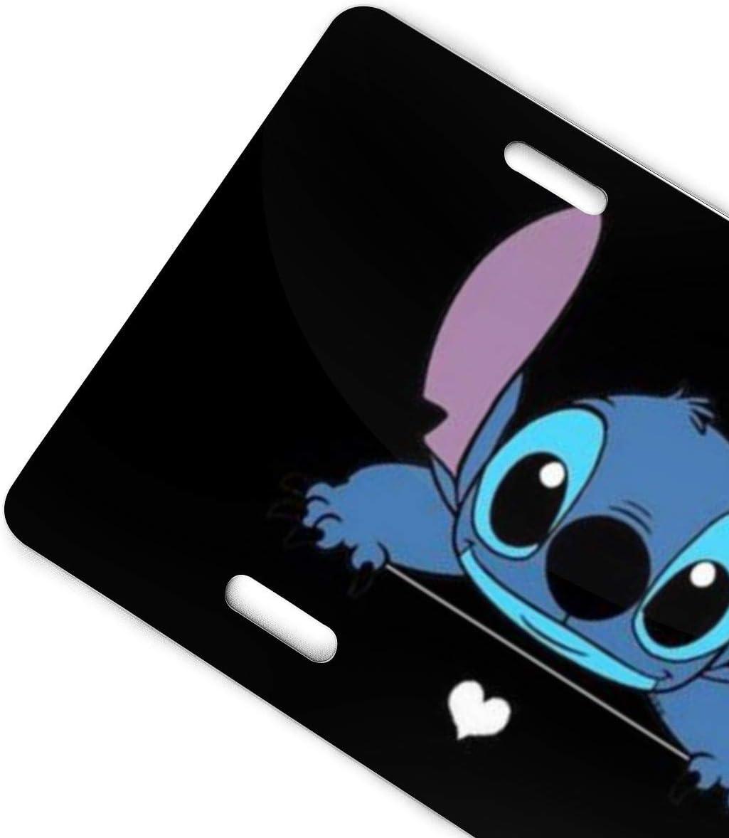 Stitch Ice Cream License Plate Sign Tag Car Accessories 12 X 6 in