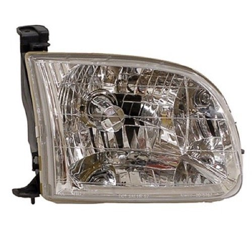(Go-Parts ª OE Replacement for 2000-2004 Toyota Tundra Front Headlight Headlamp Assembly Front Housing/Lens/Cover - Right (Passenger) Side - (Standard Cab Pickup + Extended Cab Pickup) 811)
