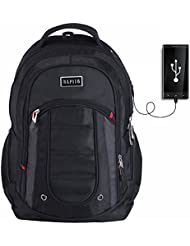 Hapito Laptop Backpack, Anti-Theft Travel Backpack for Women & Men, Water Resistant College School Backpack, with...