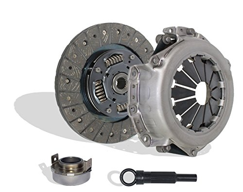 Clutch Kit Works With Mitsubishi Lancer Oz Rally ES SE LS Sedan 4-Door 2004-2006 2.0L l4 GAS SOHC Naturally Aspirated