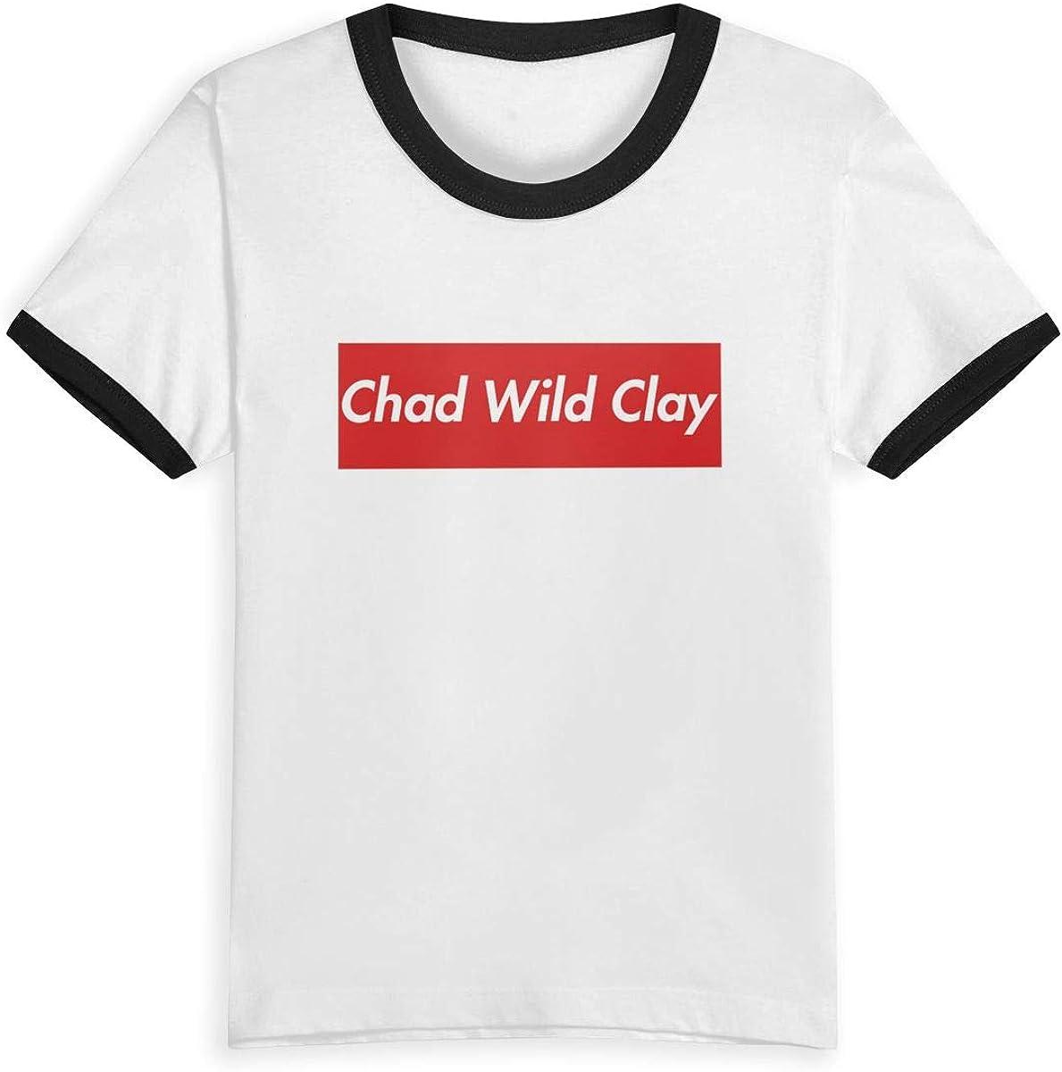 EVAGIBBONS Chad Wild Clay Child Leisure Cute Fashion Life T Shirt