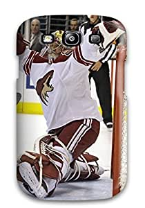 Premium Phoenix Coyotes Hockey Nhl (80) Heavy-duty Protection Case For Galaxy S3
