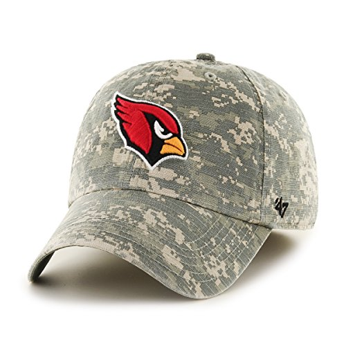 NFL Arizona Cardinals Officer Franchise Fitted Hat, Large, Digital (Cardinals Camo)