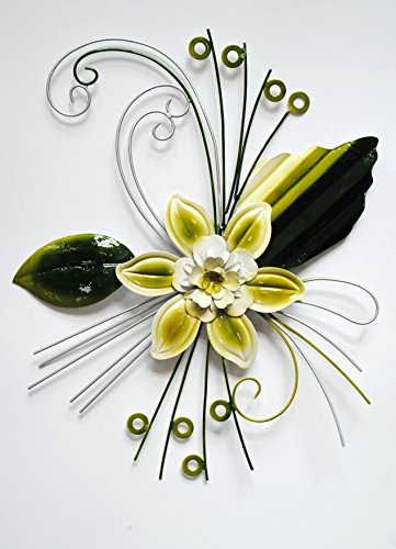 Metal Floral Wall Art: Amazon.com